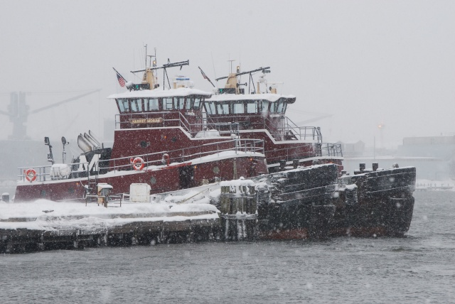 Baltimore Tugboats in Winter, 2010, (c) Tim Dicke